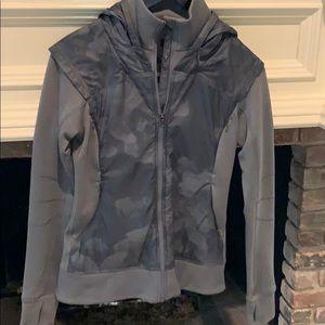 Gray Lululemon jacket size 6